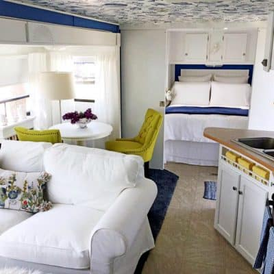 Stunning RV Renovation With Before & After Photos!