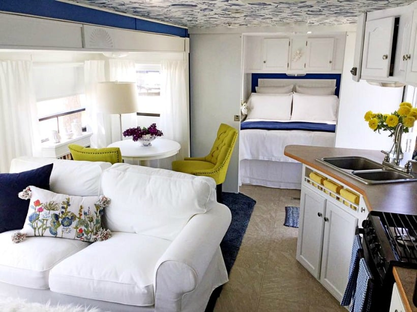 RV makeover after photo