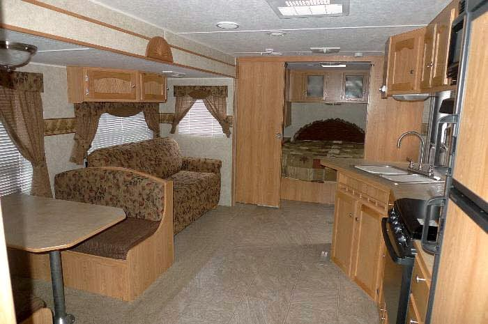 RV renovation before picture