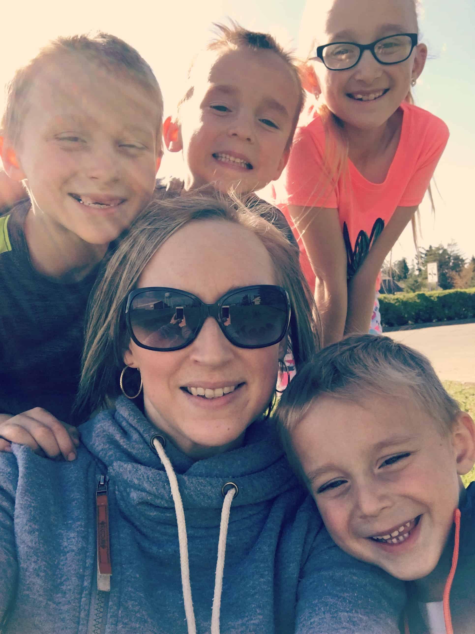 Sarah and Kids
