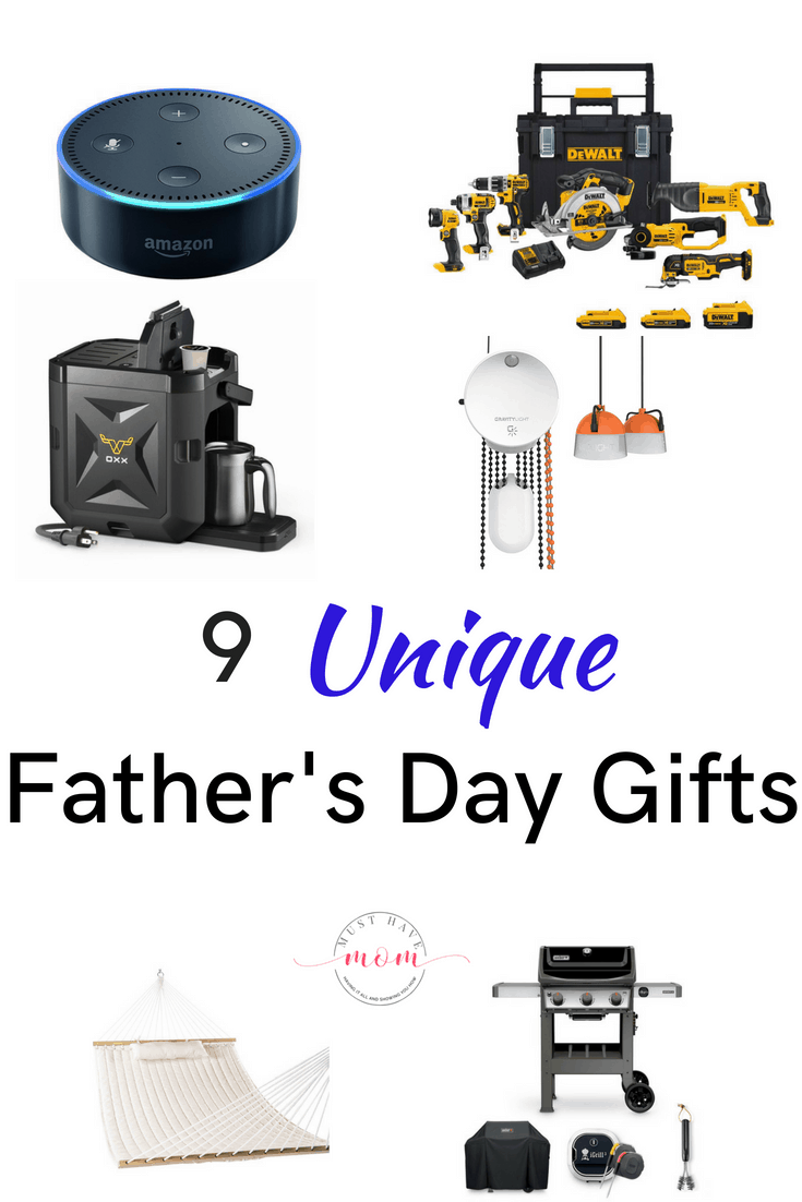 These unique Father's Day gifts are perfect for the dad on your list. Everything for gifts to the outdoor dad to the DIY dad. You are sure to find the ideal unique father's day gifts on this list.