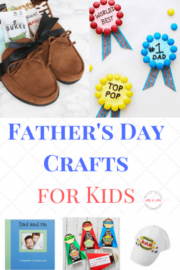 These Father's Day crafts for kids are the perfect way for children to show dad just how much they love them. You are sure to find the ideal Father's day crafts for kids on this list.