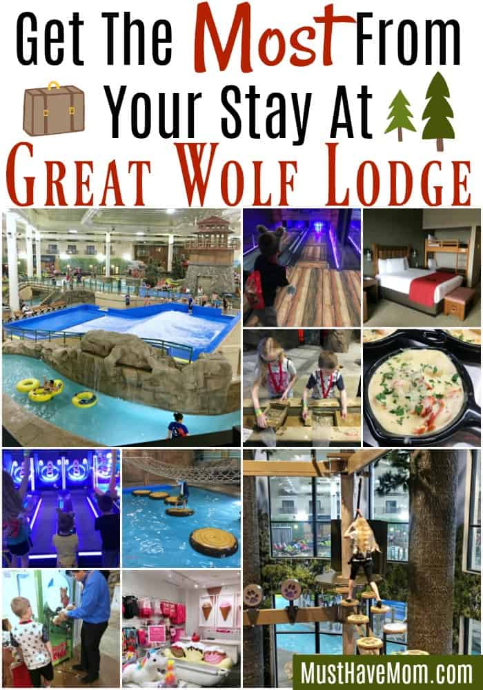 How to get the most from your stay at Great Wolf Lodge