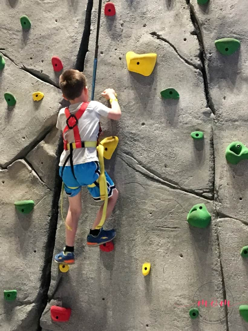 Great Wolf Lodge Rock Wall