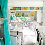 Colorful Boho Chic Camper Makeover DIY