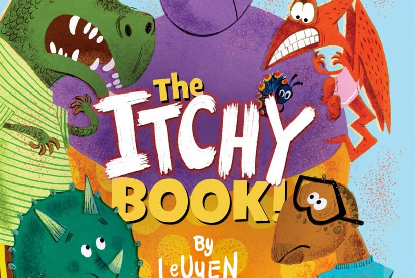 The Itchy Book. Perfect for Young Readers, ages 4-8 years old.