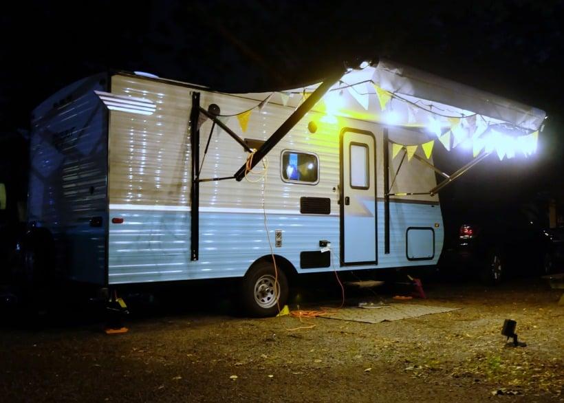 Camper exterior makeover