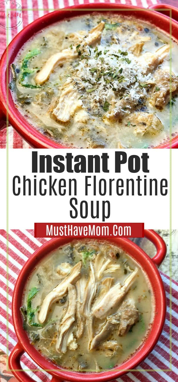 easy chicken florentine soup
