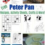 Free Peter Pan Movie Printable Activity Sheets, Recipes & More!