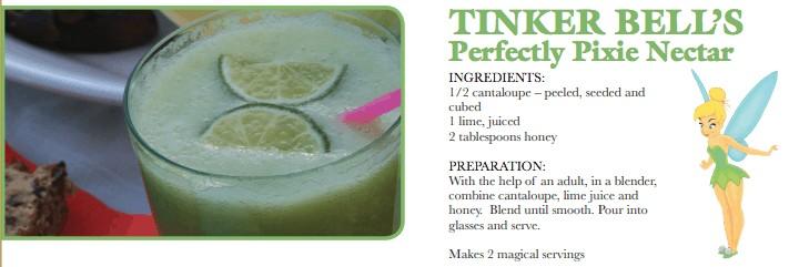 Tinker Bell Drink Recipe