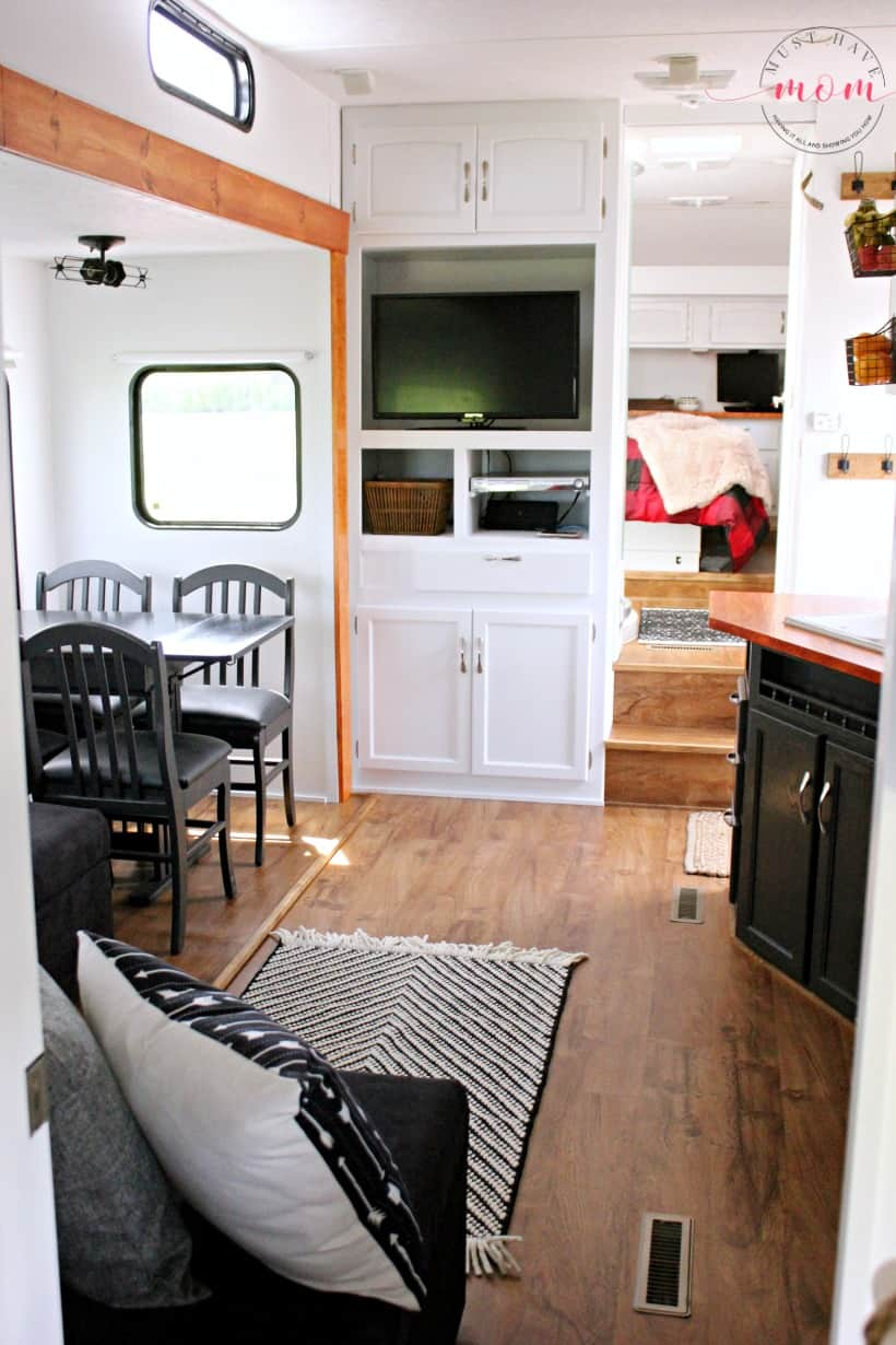 Modern Mountain Rv Makeover Before Amp After Pictures Must
