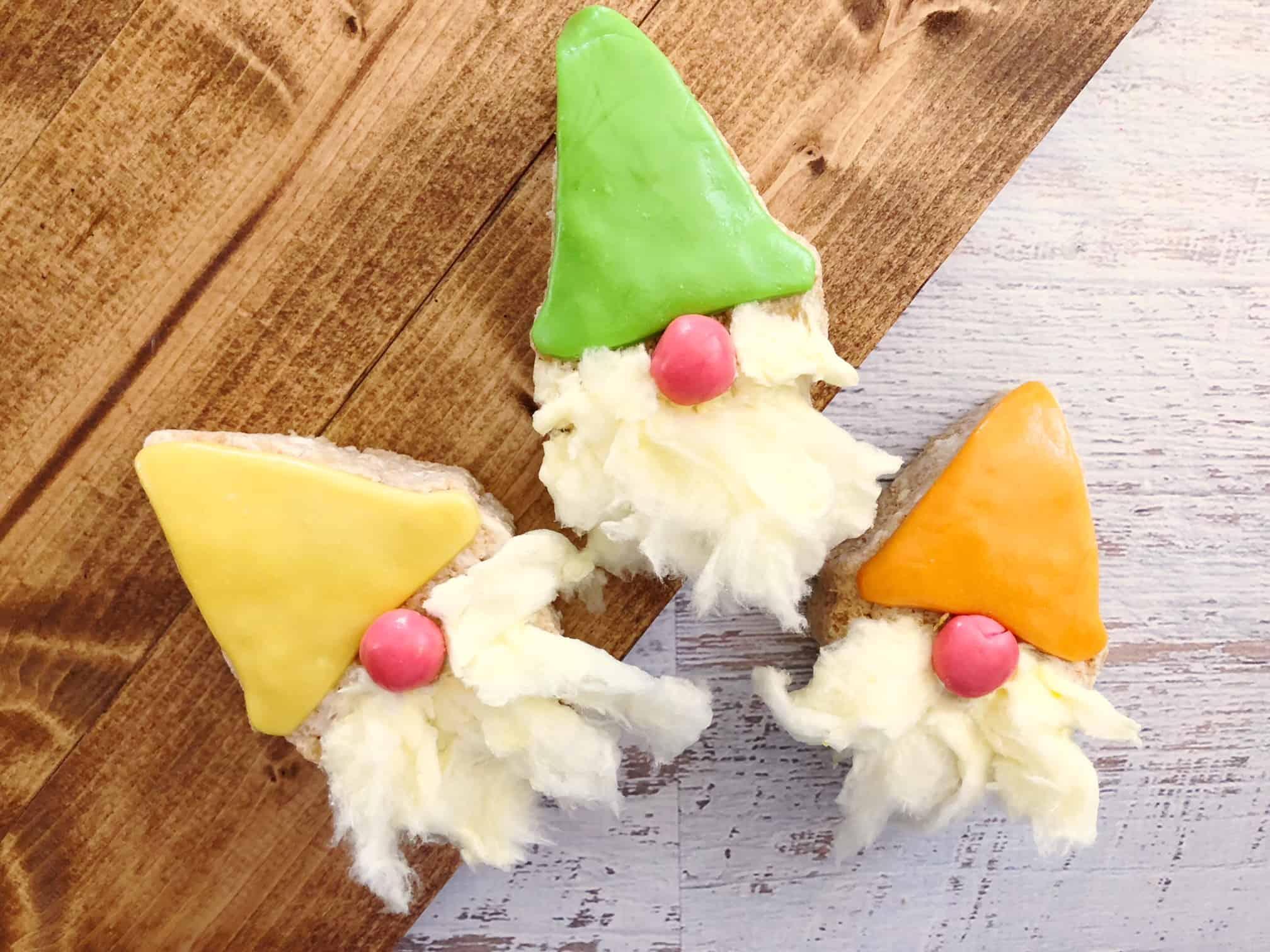 Gnome rice krispies