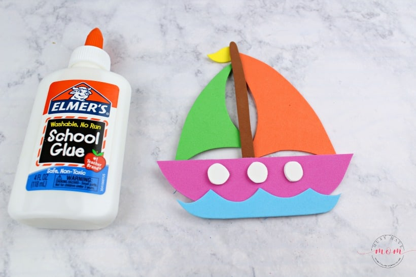 foam sailboat craft