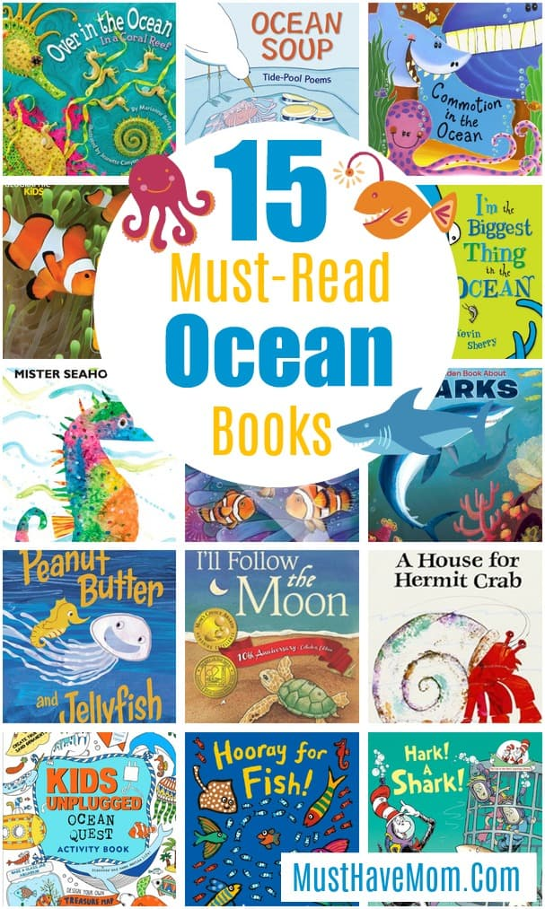 15 Ocean Themed Books For Kids You Must Read!