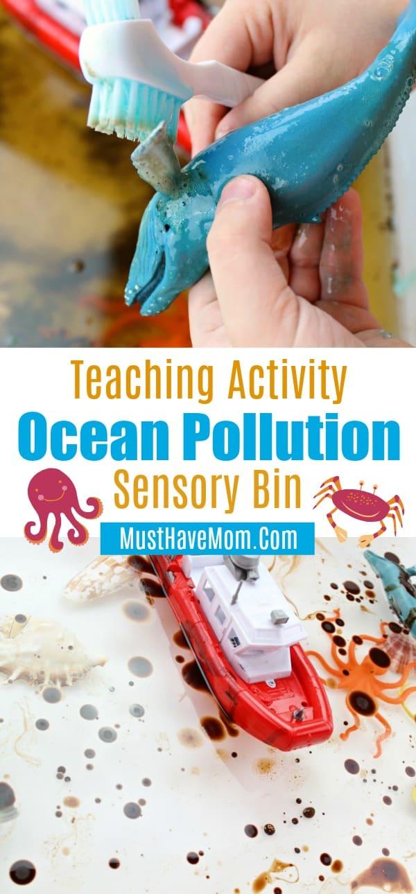 teach ocean pollution