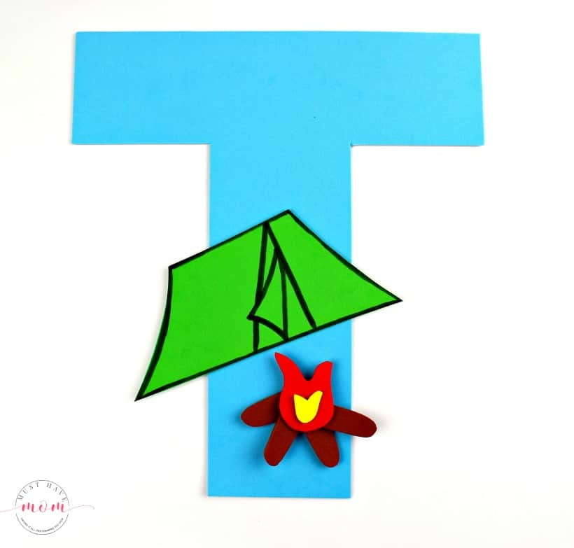 letter craft T