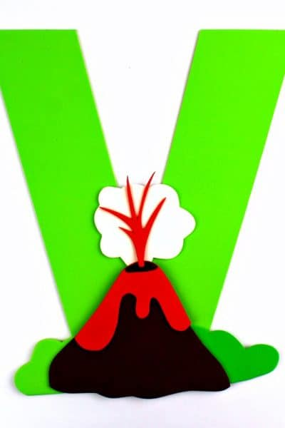 Letter V is for Volcano Craft