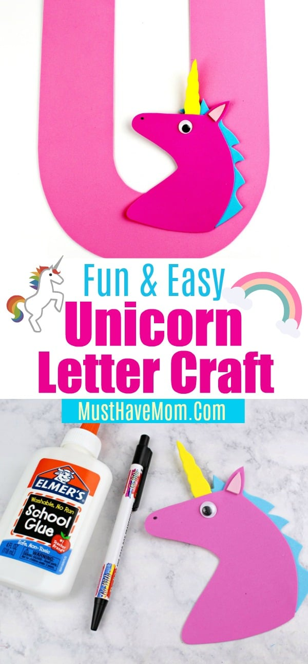 unicorn letter craft