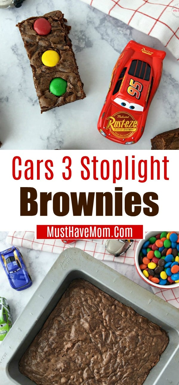 Cars Stoplight Brownies Food Idea