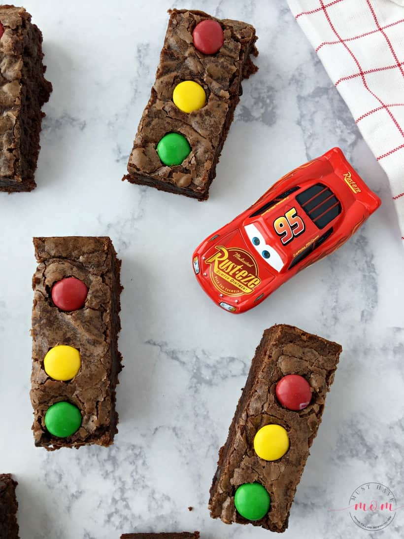 Cars 3 brownies