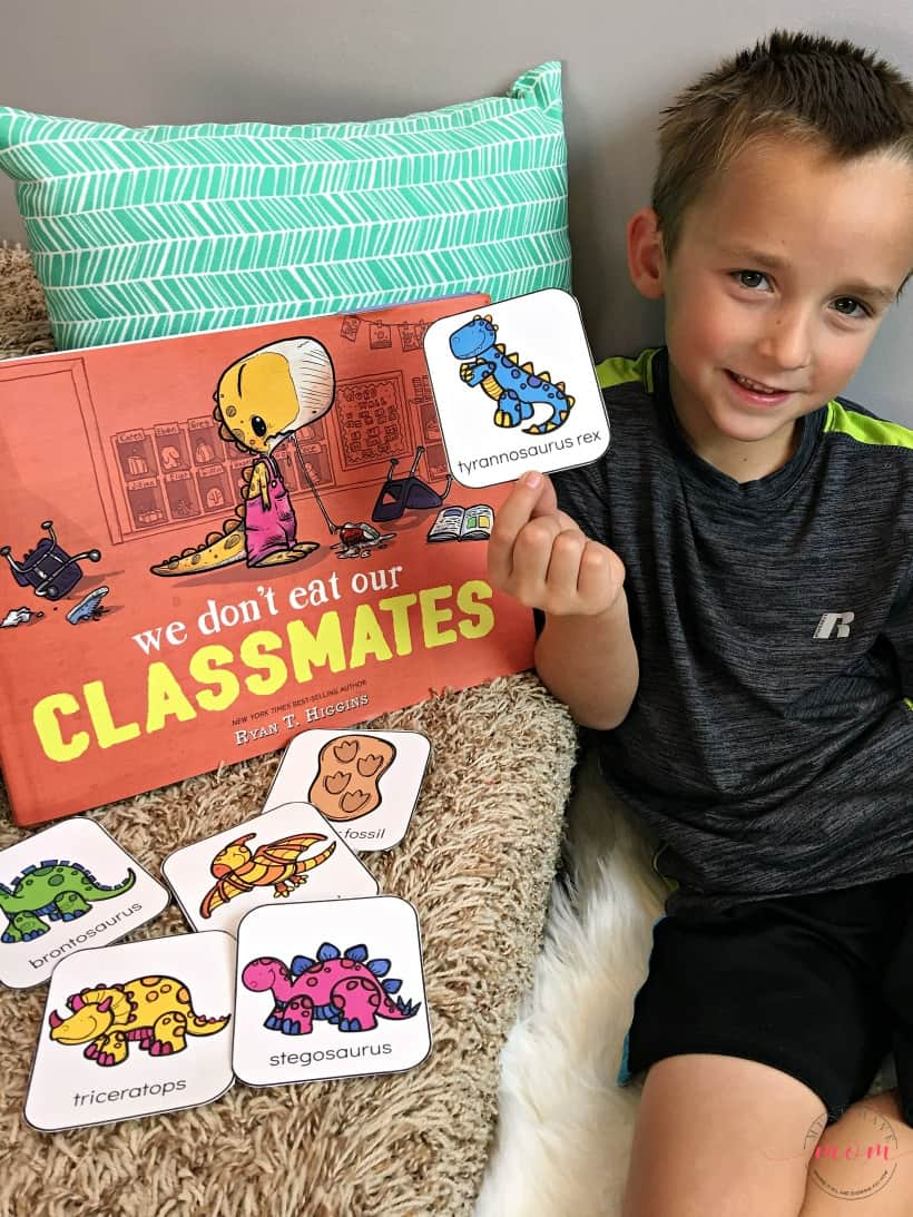 back to school dino activity