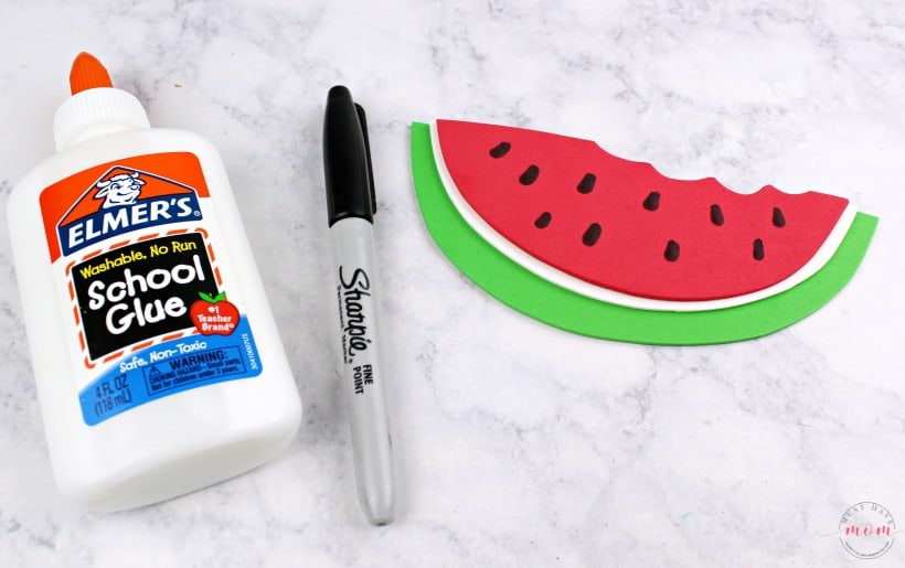 glue watermelon together
