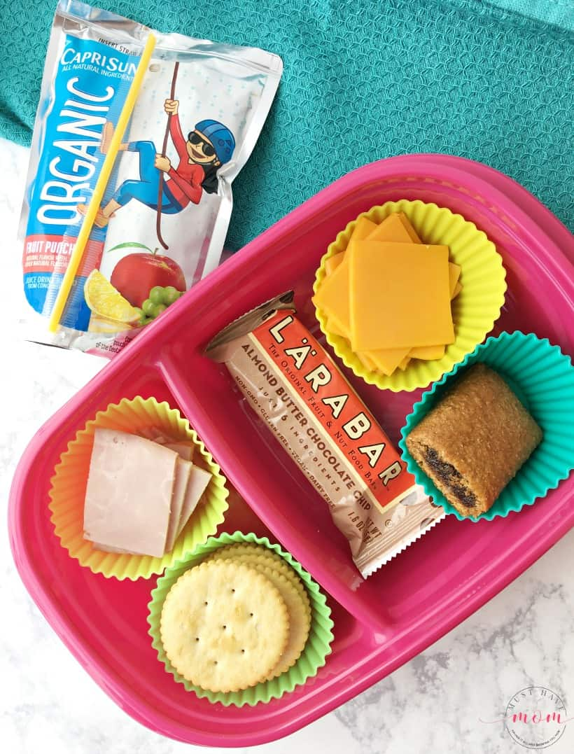 homemade healthy lunchable