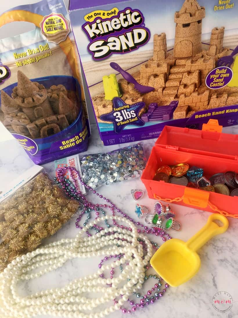 pirate sensory bin supplies