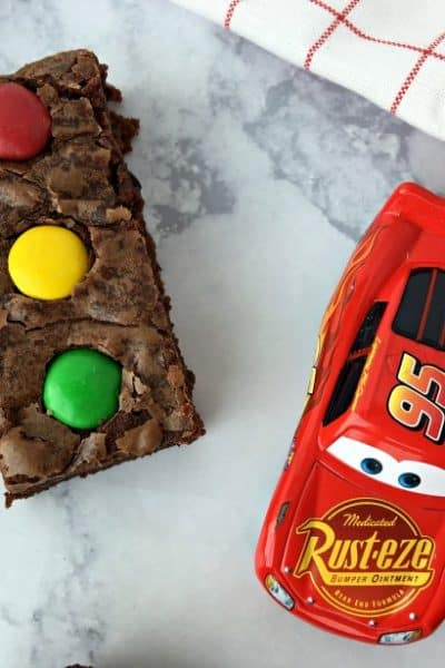 Stoplight brownies idea
