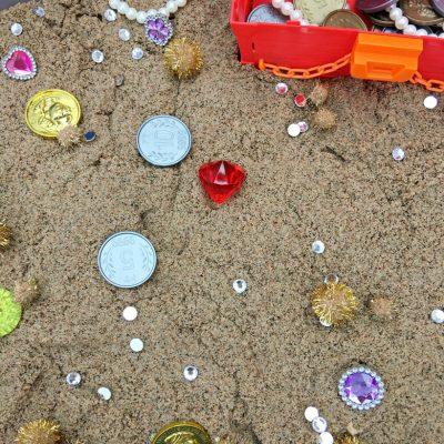 treasure for sensory bin