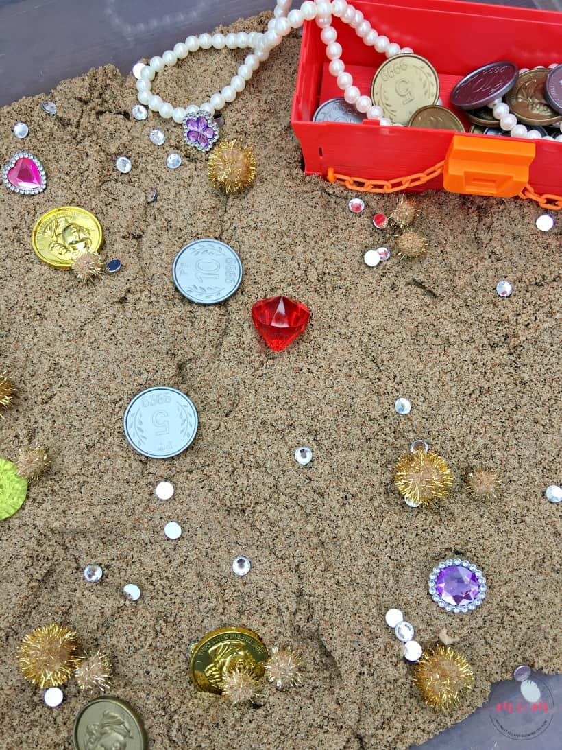 treasure for sensory bin