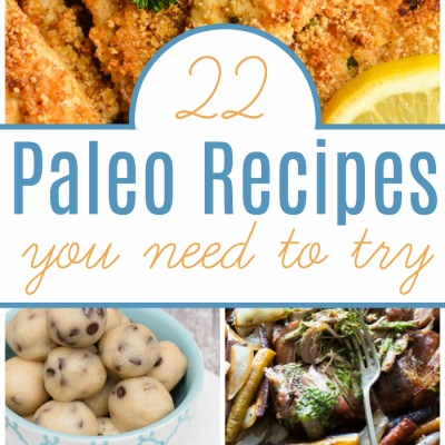 22 Paleo Recipes You MUST Try
