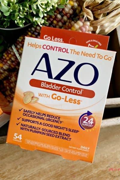 AZO to stop bladder leakage