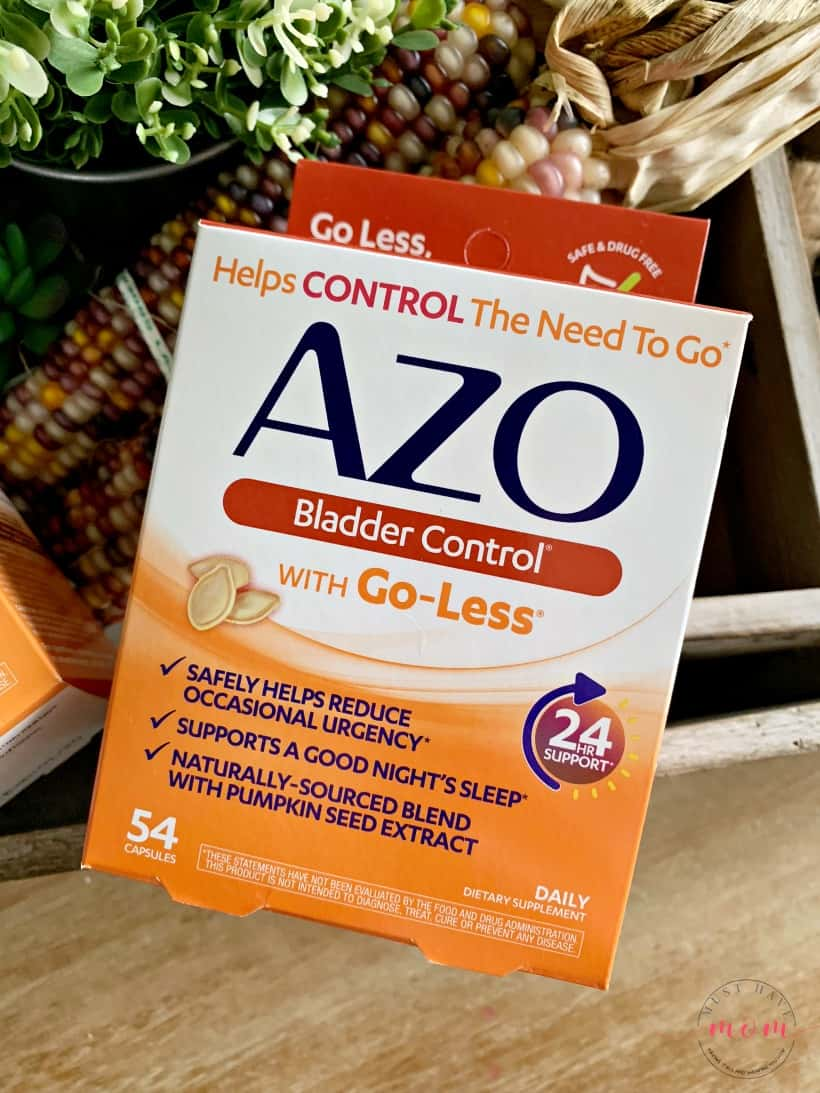 AZO to stop bladder leakage