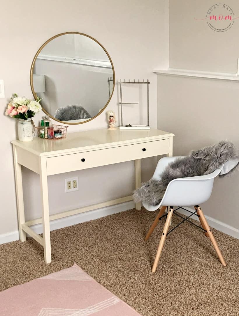 girls vanity desk