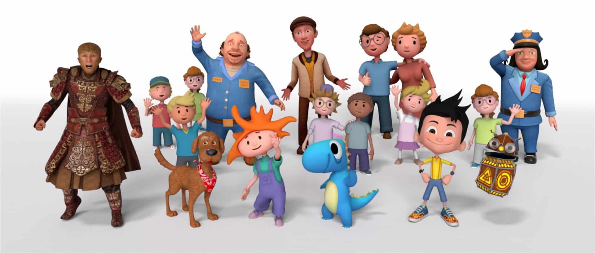 Stan Lee's Kids Universe characters