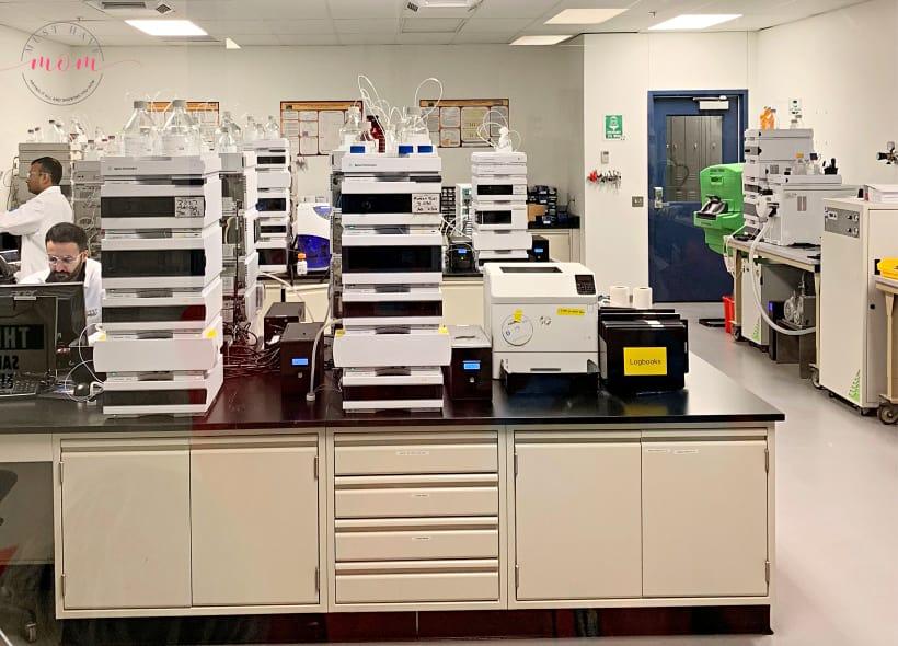 NOW laboratory testing