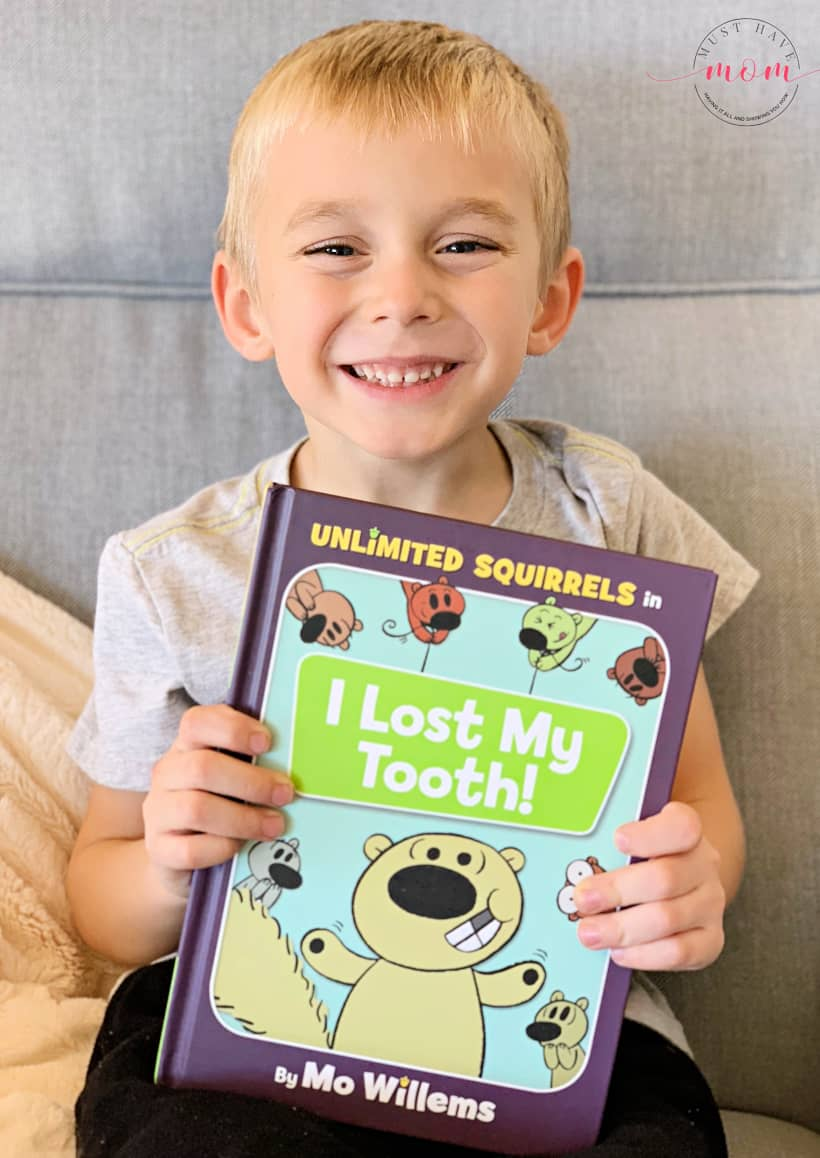 I lost my tooth book