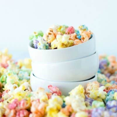 Best Rainbow Popcorn Recipe
