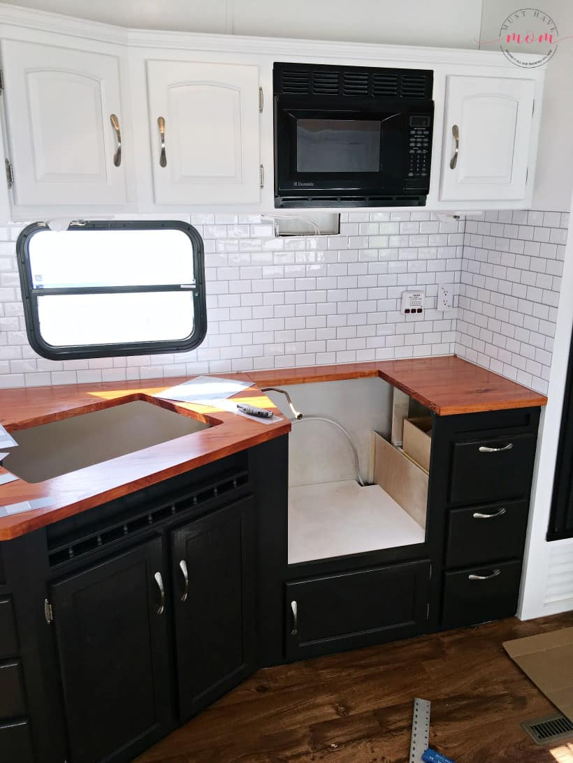 installing wood countertops diy