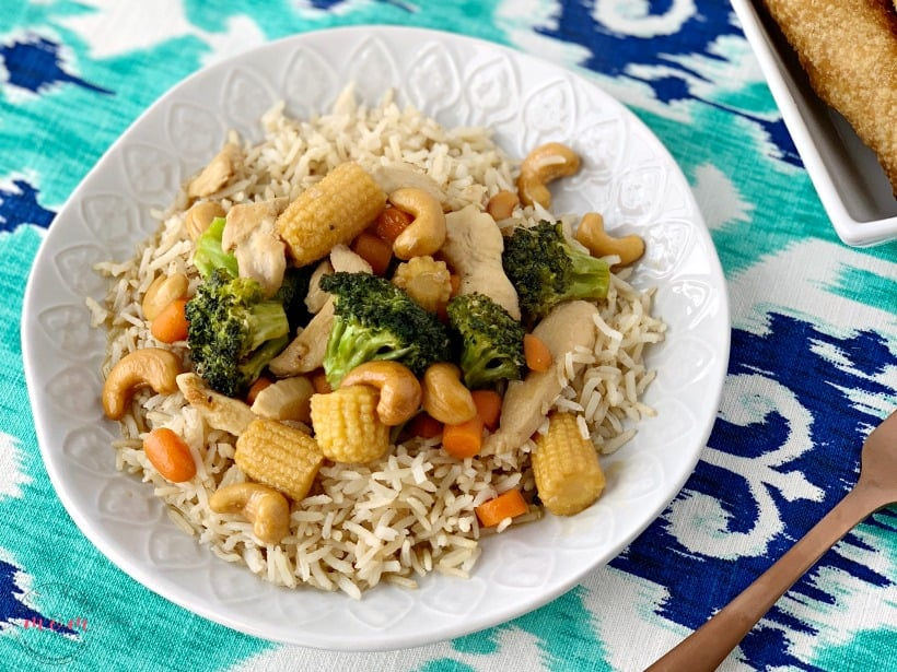 easy cashew chicken recipe