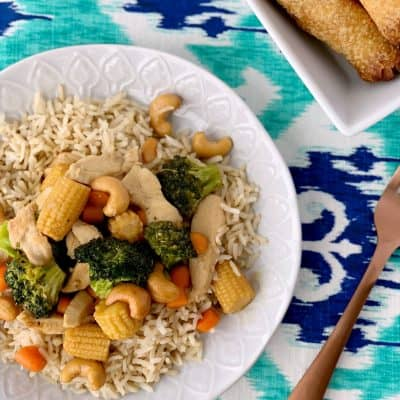 Best Cashew Chicken Stir Fry Recipe