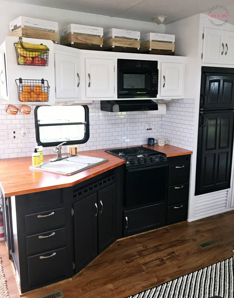 DIY wood countertops for RV