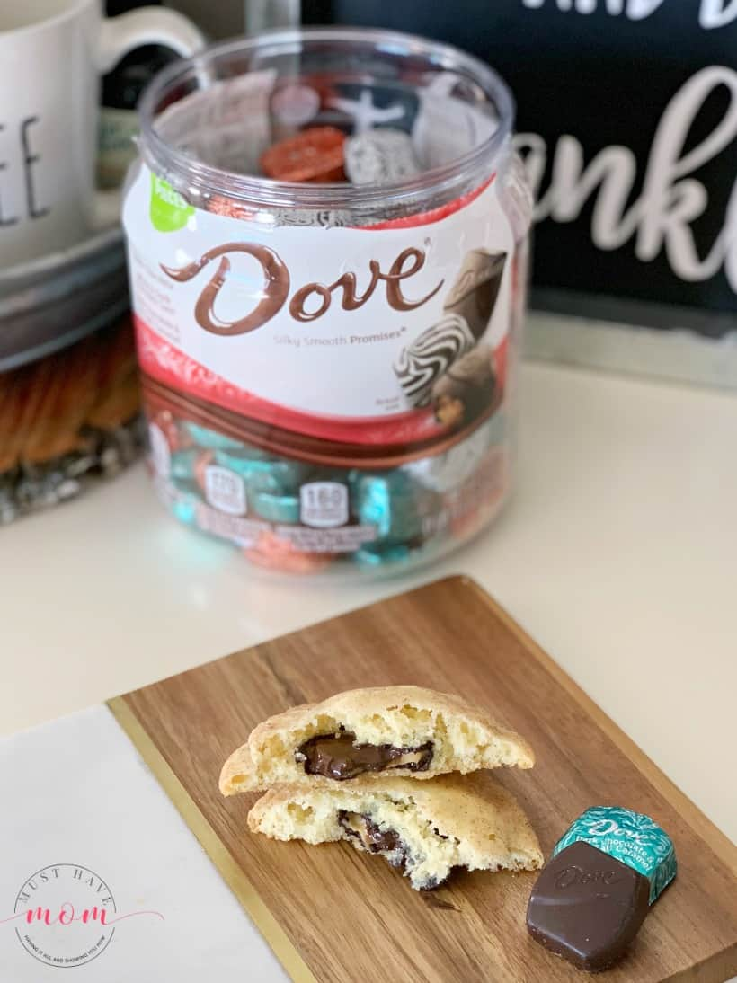 dove snickerdoodle cookies