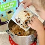 Kids Cooking Activities Healthy Granola Bar Recipe + Book