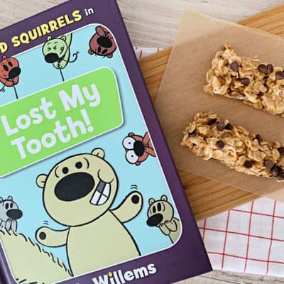 book and kids cooking activity