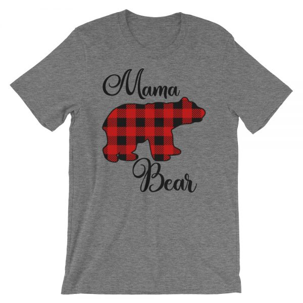 Buffalo Check Mama Bear Tee