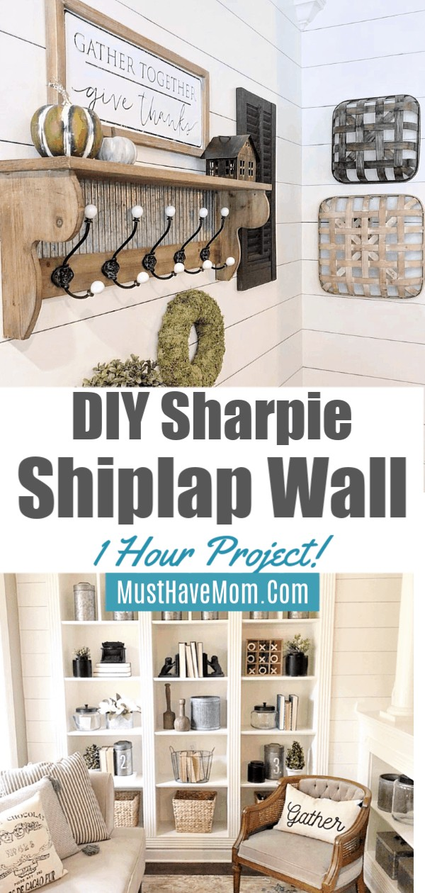 one hour shiplap wall