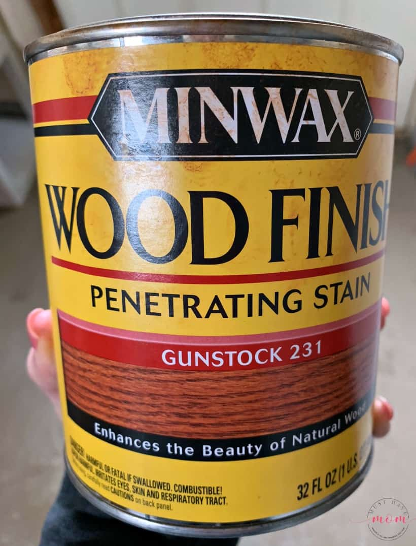 wood stain for diy countertops