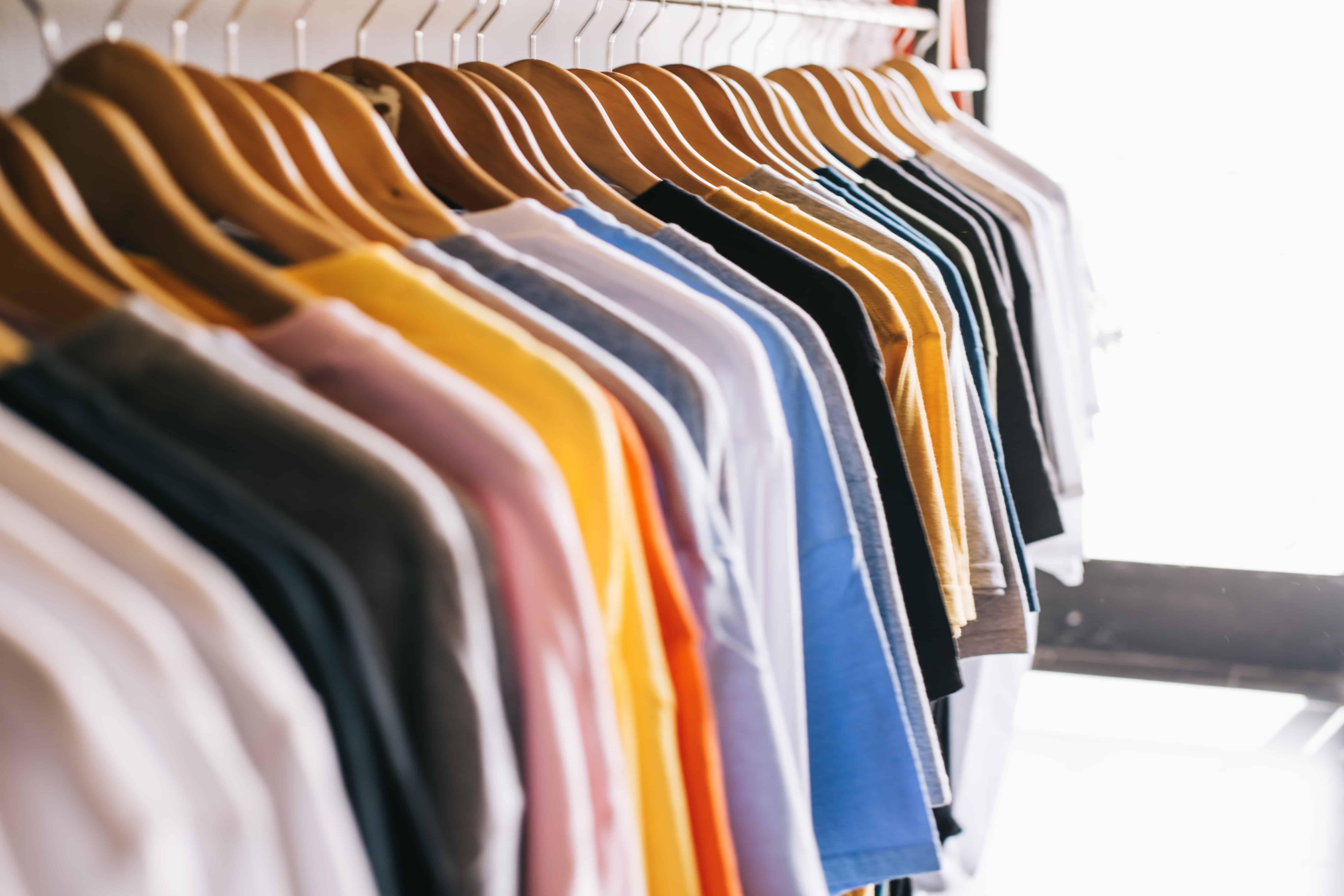 family clothes closet